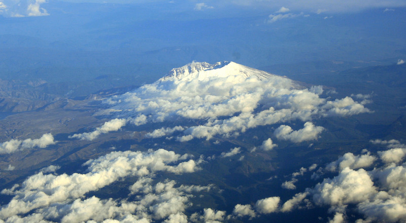 Mount St. Helens, 10 Oct 2008